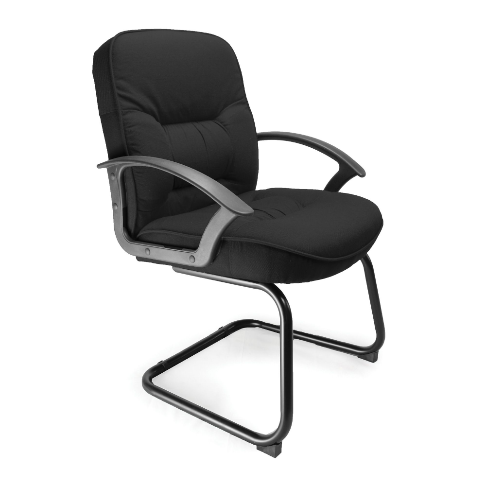 Cantilever Framed Meeting Chair with Fixed Arms.  Choice of Colours RF04CVC-002